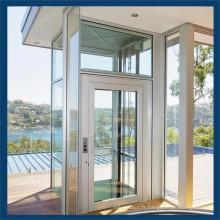 Ascenseur de visite de bâtiment d'ascenseur de bâtiment à la maison panoramique en verre commercial