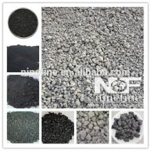 carbón de antracita calcinado FC98% aumento de carbono, carbón calcinado para la venta