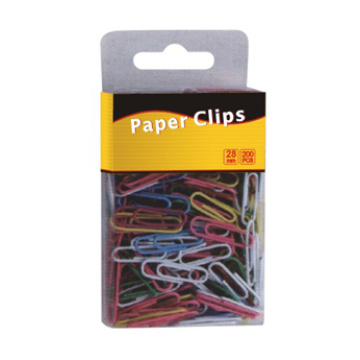 Clipes de papel de cor 200pcs