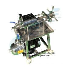 Leo Filter Edelstahlplatte und Rahmen Hydraulikfilterpresse