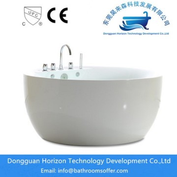 Clean baththroom small round bathtubs