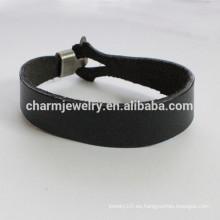 Pulsera de cuero de moda pulsera sencilla lisa pulsera lisa PSL023