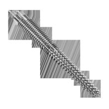 Parafuso duplo cônico e cilindro para folha SPC