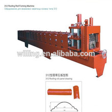 roof ridge machinery for reasonable price made in china