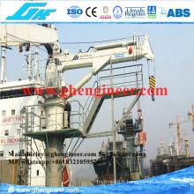 Grue marine télescopique à flèche hydraulique