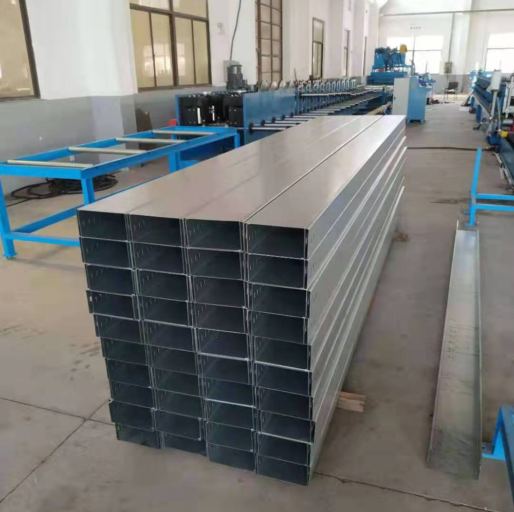 automatic cable tray rolling machine