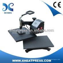 Nova concepção digital t shirt sublimação impressão t shirt impressora máquina de imprensa de calor