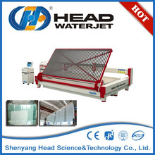 Prototype fine intricate shapes water jet non-toughened glass cutting machine