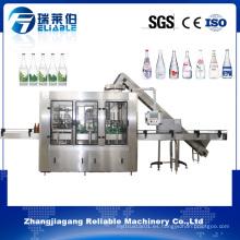 Máquina de rellenar de la botella de cristal de la bebida del vino de Monoblock