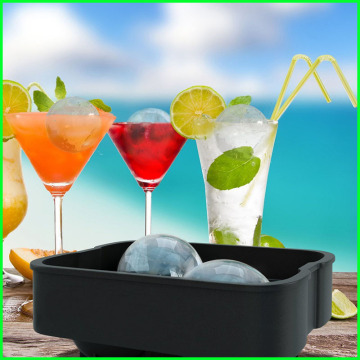 Top Sale Soft Silicone Ice Ball Maker Form