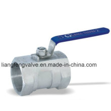1 PC Ball Valve Stainless Steel