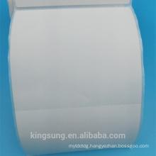 Custom self permanent adhesive double layer label sticker