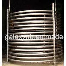 Tube / tuyau de courbure de titane de vente chaude de haute qualité