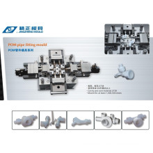 Plastic POM Used Injection Pipe Fitting Mold