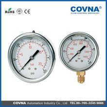 Calibre de pressão cheio de líquido
