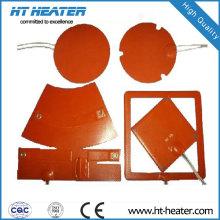 Almofada térmica de borracha de silicone de design