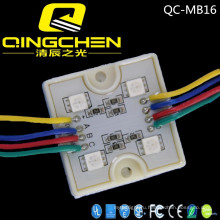 Видео RGB чип Внутренний 3LEDs 5050 DC12V полноцветный светодиодный модуль