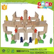 2015 New Popular Wooden Blcoks Buiilding Set Kids Toys Building Block