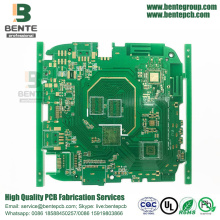 6-layers Multilayer PCB FR4 Tg150 PCB ENIG 3U