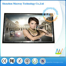 65 inch big screen open frame advertising lcd