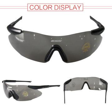 Ultra-léger cyclisme lunettes Sports de plein air lunettes lunettes de coupe-vent noir lentille