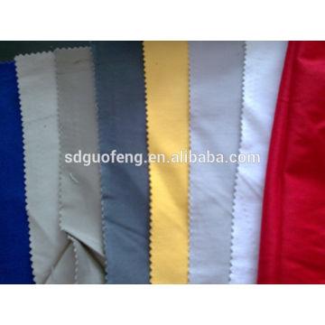 Tissu imprimé par Spandex de coton 32 * 32 + 70D