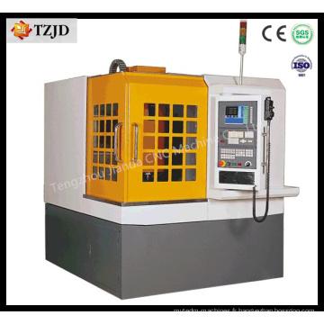 Machine de gravure de moule pour la gravure sur des électrodes en aluminium de fer d'acier