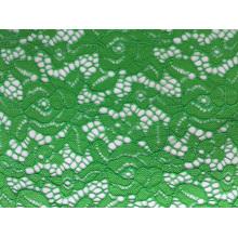 Tissu de dentelle de Jacquard d'envergure de nylon