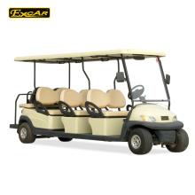 Trojan bateria 8 lugares carrinho de golfe carrinho de golfe elétrico preço carro de turismo elétrico
