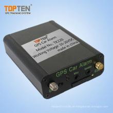 Zentralverriegelungsautomatik-Autoalarm mit dem Zweiweggespräch, Maschinenstatus über SMS Tk220-Ez überprüfen