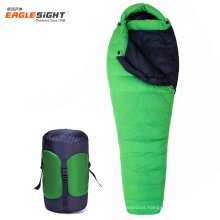 Eaglesight White Goose Down Sleeping Bag Ultra Light Winter Sleeping Bag Camping