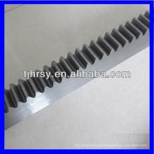 C45 aço M3 engrenagem rack 25 * 25 * 1000mm