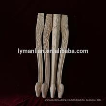 Muebles de madera patas de mesa