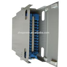 Telecommunication Optical Fiber patch panel 12/24/48/96 cores