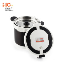 4.5L and 7L 304 stainless steel energy saving vacuum thermal cooker flame free cooking pot