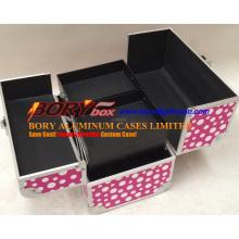 Wholesale Small Custom Beauty Case with Six Trays