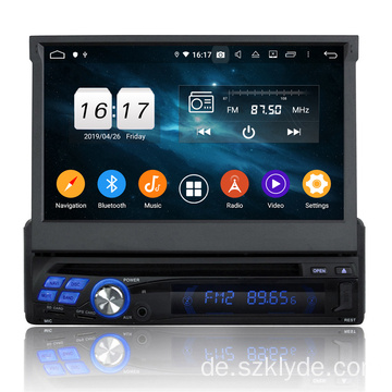 Single Din 7-Zoll-Universal-Autonavigation
