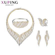 set-72 suprimentos de jóias xuping china atacado 925 mulheres de moda de prata conjunto de jóias de luxo