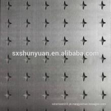 Fábrica de alta qualidade perfurada folha de metal / malha de arame perfurado