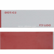 """TID 2"""" x 150' DOT Class 2 Reflective Tape Safety Tape Red/White Adhesive Set"""
