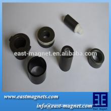 Anillo sinterizado de imán de ferrita con múltiples polos / anillo magnético multipolar para la venta / fábrica de ferrita de China fábrica