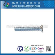 Fabricante en Taiwán Acero Inoxidable M2.5X6 Máquina métrica Tornillo de cabeza recortada de tamaño pequeño