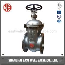 Ductile iron flange gate valve