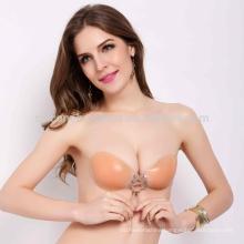 ladies underwear bra new design fashion forms silicone skin bra