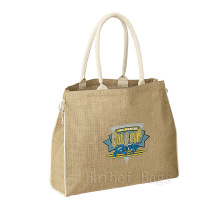 Джутовая сумка-тоут (hbju-138)