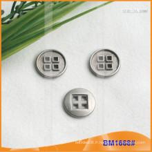 Bouton en alliage de zinc et boutons en métal et bouton de couture en métal BM1668