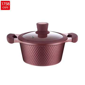 6pcs Die-cast Aluminum Cookware Set