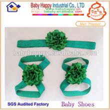 Élégantes sandales pieds nus pour bébés