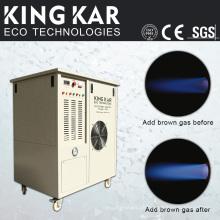 Stanzmaschine mit Wasserstoff-Sauerstoff-Generator