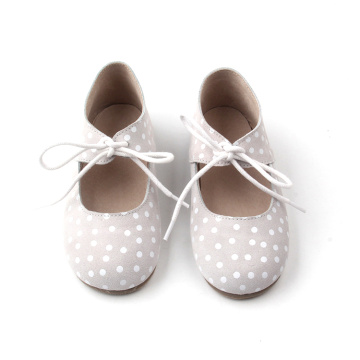 2018 Spots Kids Dress Mary Jane Zapatos